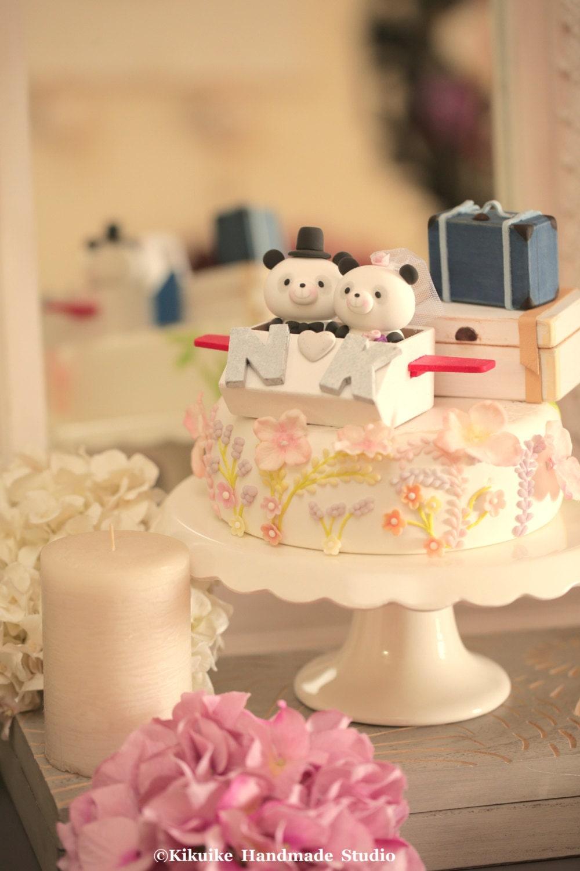 Panda Wedding Cake Topper [E10261624442415000M] - $43.99 : Spotfond.top