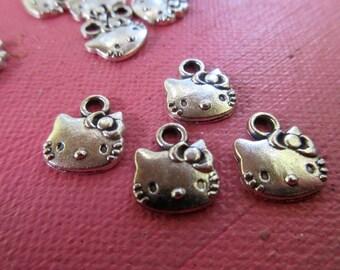 6 Hello Kitty,  Kitty Charms,   Kitty Lovers,   Bracelets ,    One Dollar Market