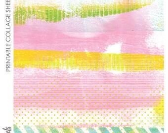 Digital Collage Sheet Printable No. 46