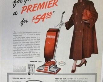144  Premier Vac Ad - 1948