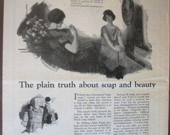 COS-136  Ivory Soap Ad  -  1924