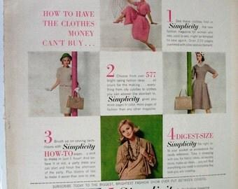 "FAS-L 189  ""Simplicity""  Ad -   February 1961"