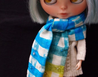 Extra Long Scarf for Blythe Dolls