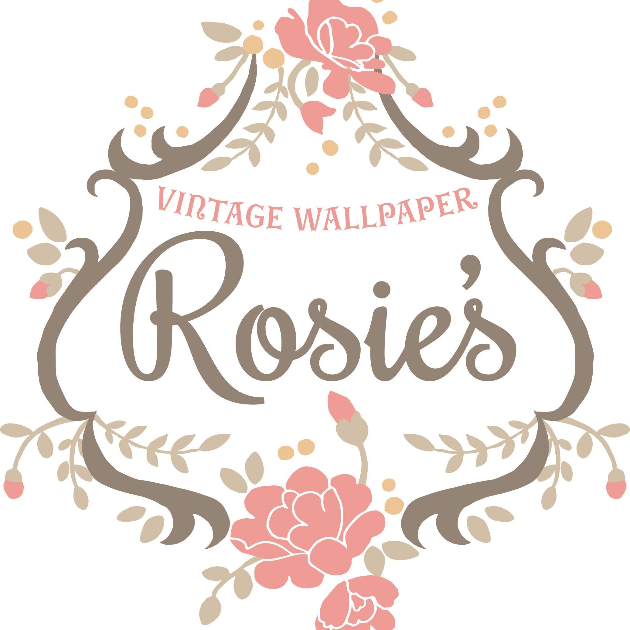 rosie 39 s vintage wallpaper by rosieswallpaper on etsy