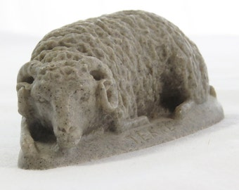 Ram Sheep Figurine by T. Earl