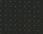 "Black Print Thimbleberries Paintbox Fabric - 35"" Piece"
