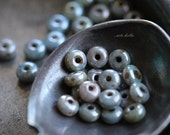 LUSTER MIXED BITS .. 50 Premium Czech Glass Rondelle Beads 2x3mm (4964-50)