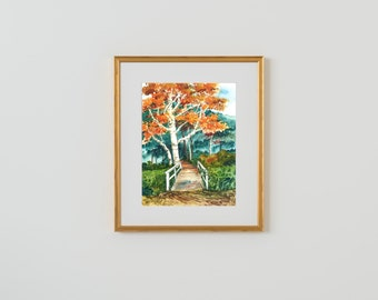 Framed Print - Autumn Has Come