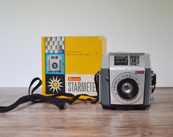 Brownie starmeter Vintage Camera Kodak Camera Brownie Camera Collectible Camera