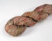 FS{f2} Weathered Barn Yarn: 65/35 Mulberry Silk/Linen Fingering Hand-Dyed Yarn (437y/400m/100g) CW153