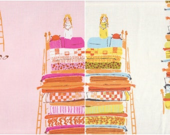 Far Far Away by Heather Ross, Princess and the Pea HR9658 - half yard bundle of 2