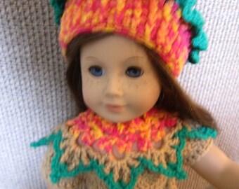 Flower Fairy Costume For American Girl Doll, 5 pc.