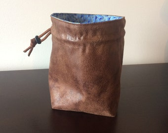 Imperial Stand-up Dice Bag, Square Bottom