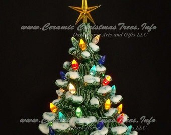 Ready To Paint Ceramic Christmas Tree Kit 11 Inches w/ Music