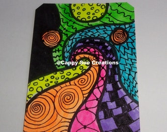 Wild dream loud original artist trading card aceo work
