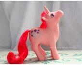 Vintage G1 MLP My Little Pony Unicorn and Pegasus High Flyer