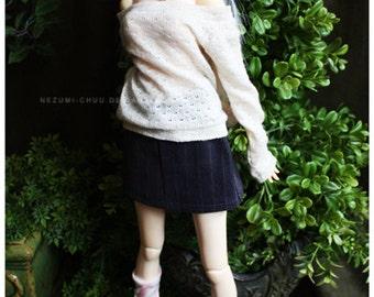 Summer Sale! ABJD Dollfie SD Delf Musedoll cute jean mini skirt