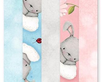 Bunny Love Fabric Fat Quarter Bundle