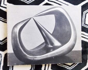 1960s Henry Moore art book catalog / 1968 soft cover sculpture book / original Mid Century art book