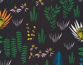 Organic Cotton Voile, Cloud9 , Manu Forest from Leah Duncan's Yucca Collection, by the yard