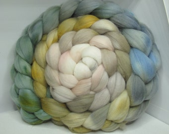 Merino 15.5 Roving Combed Top 5oz - River Rocks 2