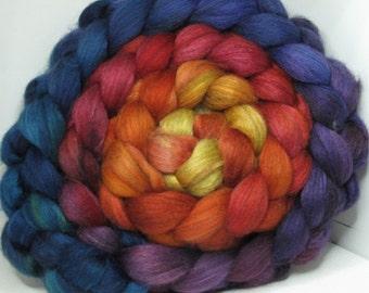 Merino Yak Bombyx Silk 60/20/20 Ecru Roving Combed Top - 5oz - Joy 3