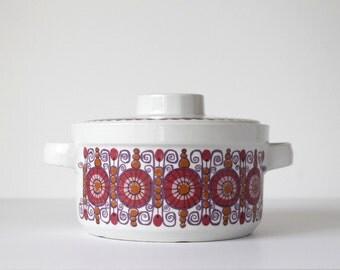 Figgjo Flint Barcarole Casserole, Turi Gramstad Oliver Design, 1.5 Quart, Scandinavian Modern, Norway