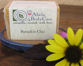 Pumpkin Chai Natural Soap