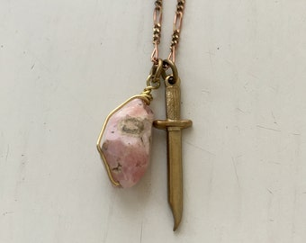 Sword in the Stone Necklace
