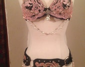 Tribal Fusion, Tribal, professional Bellydance costume, reserved for VelvetkittyVintage