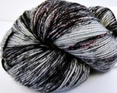 Business in the Front - Speckled - Hand Dyed Merino and Nylon Sock Yarn - Entree