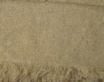 Vintage Baar & Beards Large Winter Scarf or Shawl - Light Beige