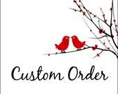 Custom listing for Ashle