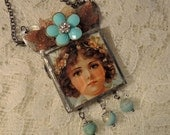 Little One - Soldered Assemblage Necklace
