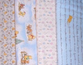 CLASSIC POOH  fabrics, sold individually,not as a group, sold by the Half Yard, please see body of listing