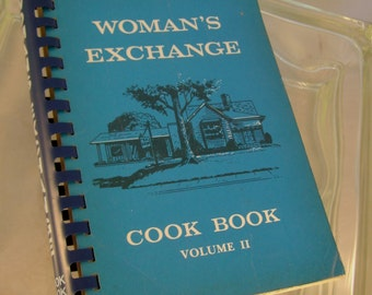 "Vintage 1976 ""The Women's Exchange of Memphis, Tennessee"" Cookbook Recipes, Volume II"
