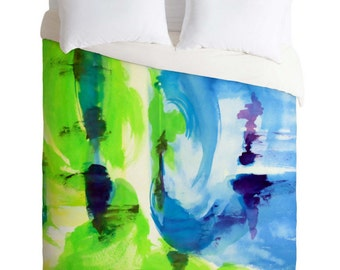 Shot of Lime Duvet Cover