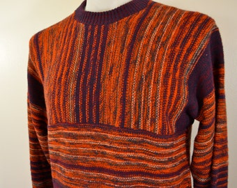 on sale Vintage JOCKEY brand mens SWEATER size XL made in usa Cosby Sweater