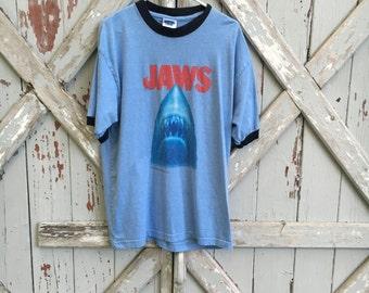 JAWS - vintage 1980s tshirt XL