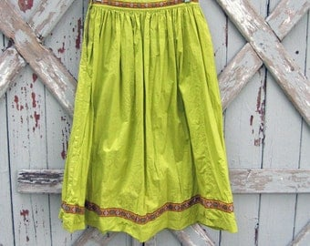 Senorita - vintage 50s Mexican skirt NEW!!