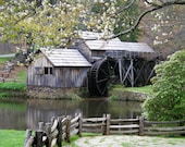 Primitive Photo 4x6 Mabry Mill Fine Art Print