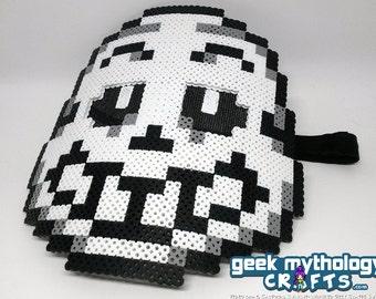 Sans Cosplay Mask Undertale - Pixel Art Perler Bead Design - Fits Most Adults and Teens!