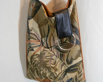 Tapestery Style Hobo Bag. FREE SHIPPING!