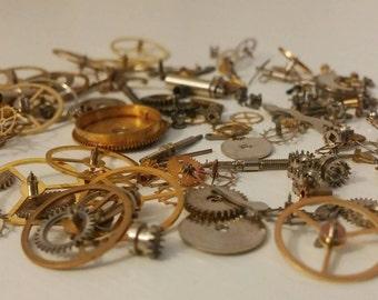 Watch Parts - Gears - Steampunk - Supplies - Jewelry