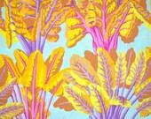 COUPON CODE SALE - End of Bolt - Kaffe Fassett, Chard, Spring, Rowan Westminster Fabrics, Designer Cotton Quilt Fabric, Quilting Fabric