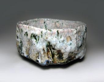 Chawan  / Raku tea bowl / bol à thé raku / 135 x 65 mm