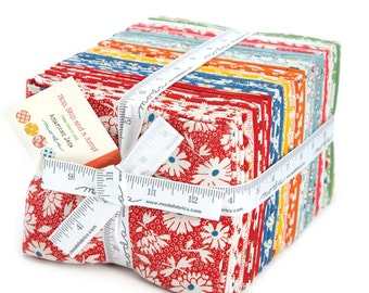 FALL SALE - In Stock - Fat Quarter Bundle (40) - Hop, Skip, Jump - American Jane - Moda Fabrics