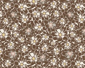 1 HALF YARD Bed of Daisies in Nutmeg by Bonnie Christine, Art Gallery, Sweet as Honey fabrics