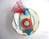 It's A Boy Handmade Gift Tag~Boy Baby Shower Gift~Baby Boy Shower~One of a Kind gift tag~Red~Blue~Turquoise~Gift Bag Swag~Pretty Packaging