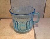 Blue Glass Mug